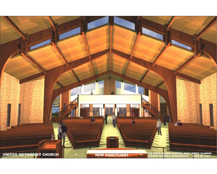 United Methodist Church Addition