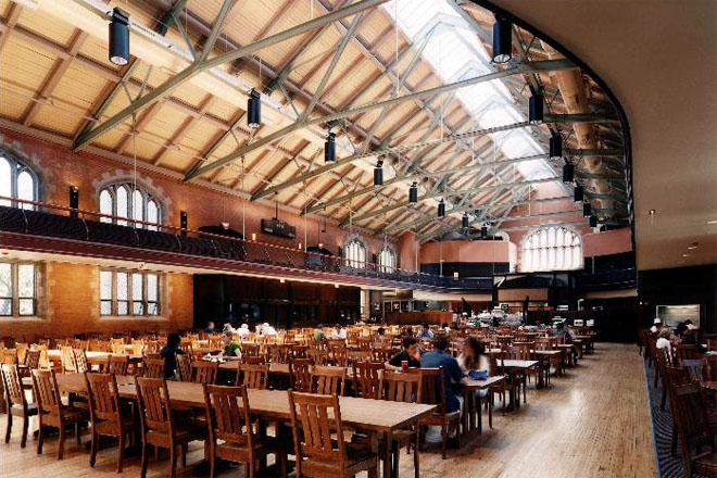 Bartlett Hall at the University of Chicago